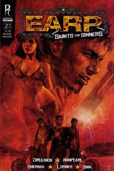 Earp: Saints for Sinners #2 comic books - cover scans photos Earp: Saints for Sinners #2 comic books - covers, picture gallery