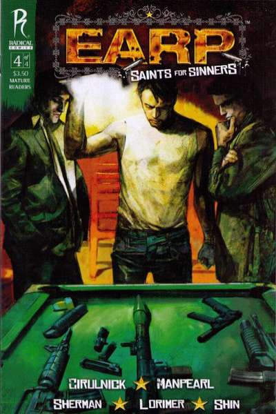 Earp: Saints for Sinners #4 comic books - cover scans photos Earp: Saints for Sinners #4 comic books - covers, picture gallery