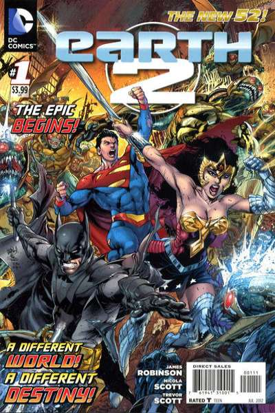 Earth 2 #1 Comic Books - Covers, Scans, Photos  in Earth 2 Comic Books - Covers, Scans, Gallery