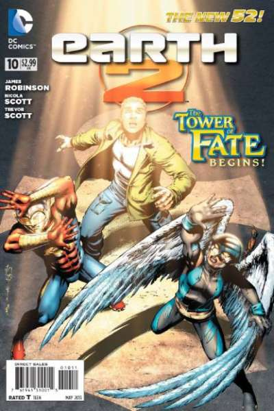 Earth 2 #10 Comic Books - Covers, Scans, Photos  in Earth 2 Comic Books - Covers, Scans, Gallery