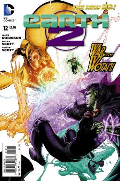 Earth 2 #12 Comic Books - Covers, Scans, Photos  in Earth 2 Comic Books - Covers, Scans, Gallery