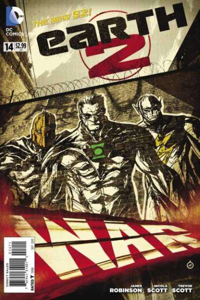 Earth 2 #14 comic books - cover scans photos Earth 2 #14 comic books - covers, picture gallery