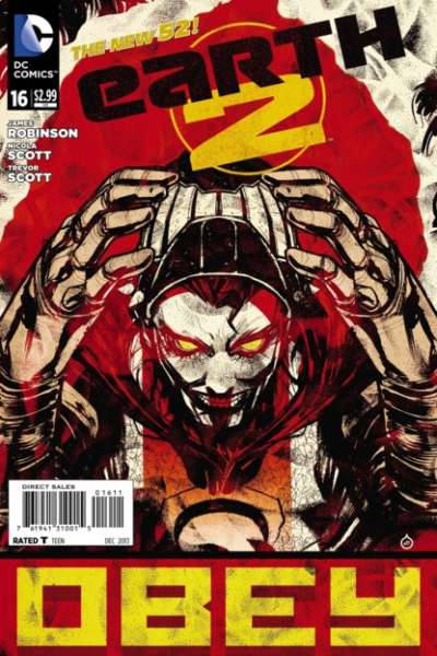 Earth 2 #16 comic books - cover scans photos Earth 2 #16 comic books - covers, picture gallery