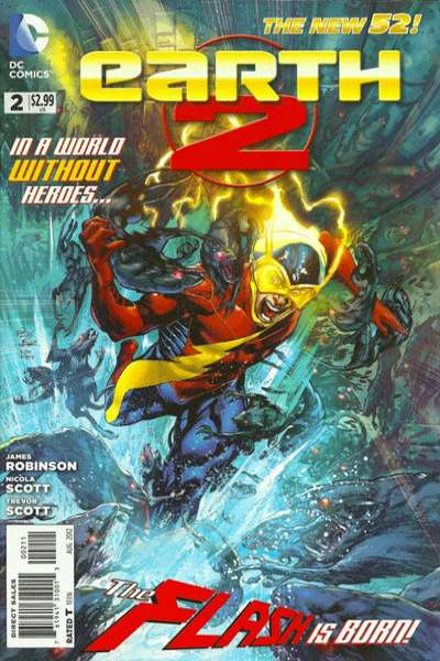 Earth 2 #2 Comic Books - Covers, Scans, Photos  in Earth 2 Comic Books - Covers, Scans, Gallery