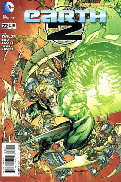 Earth 2 #22 Comic Books - Covers, Scans, Photos  in Earth 2 Comic Books - Covers, Scans, Gallery