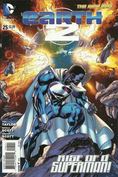 Earth 2 #25 comic books for sale