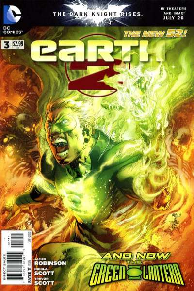 Earth 2 #3 Comic Books - Covers, Scans, Photos  in Earth 2 Comic Books - Covers, Scans, Gallery