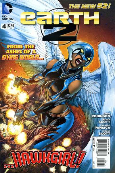 Earth 2 #4 Comic Books - Covers, Scans, Photos  in Earth 2 Comic Books - Covers, Scans, Gallery