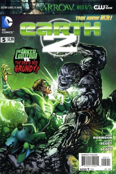Earth 2 #5 comic books for sale