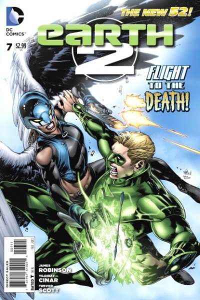 Earth 2 #7 comic books - cover scans photos Earth 2 #7 comic books - covers, picture gallery