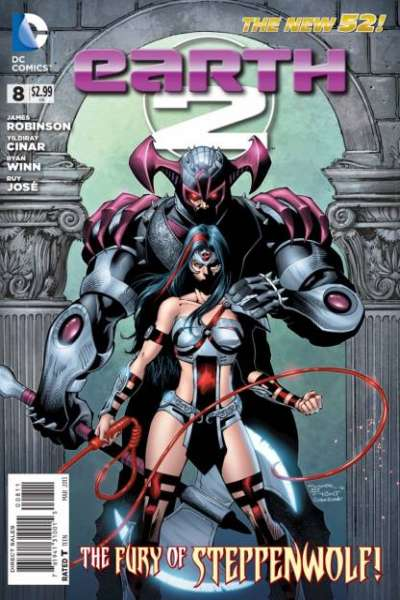 Earth 2 #8 comic books - cover scans photos Earth 2 #8 comic books - covers, picture gallery