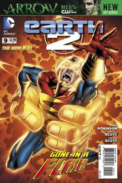 Earth 2 #9 comic books - cover scans photos Earth 2 #9 comic books - covers, picture gallery