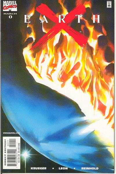 Earth X #0 comic books - cover scans photos Earth X #0 comic books - covers, picture gallery