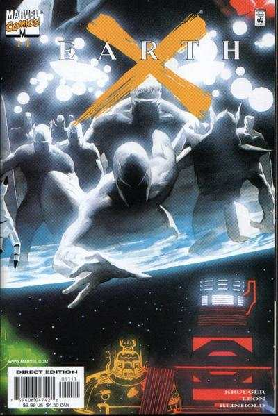 Earth X #11 Comic Books - Covers, Scans, Photos  in Earth X Comic Books - Covers, Scans, Gallery