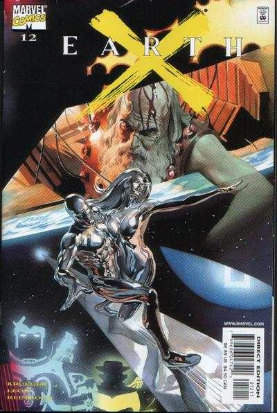 Earth X #12 Comic Books - Covers, Scans, Photos  in Earth X Comic Books - Covers, Scans, Gallery