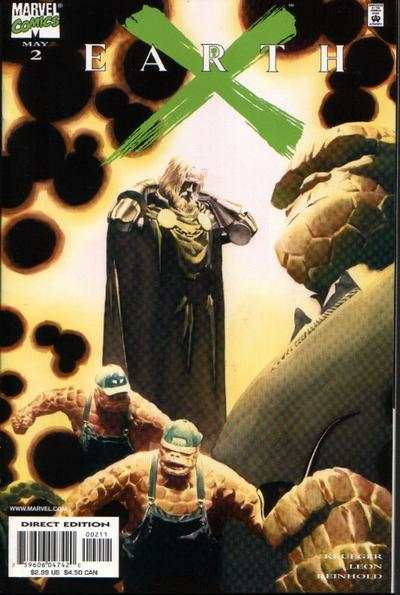 Earth X #2 comic books - cover scans photos Earth X #2 comic books - covers, picture gallery