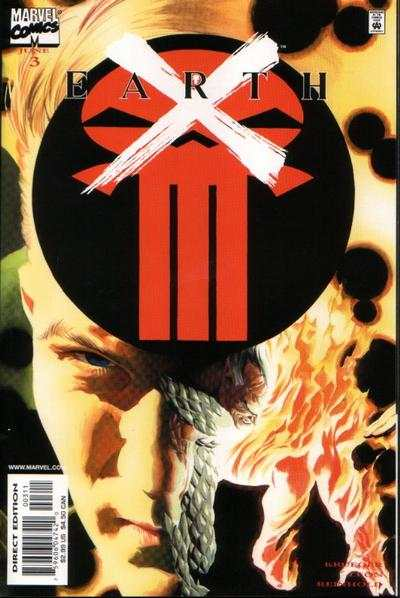 Earth X #3 Comic Books - Covers, Scans, Photos  in Earth X Comic Books - Covers, Scans, Gallery