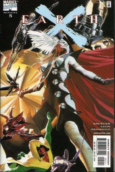 Earth X #5 comic books - cover scans photos Earth X #5 comic books - covers, picture gallery
