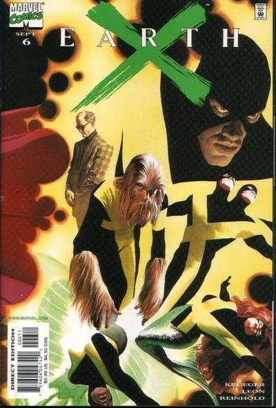 Earth X #6 comic books - cover scans photos Earth X #6 comic books - covers, picture gallery