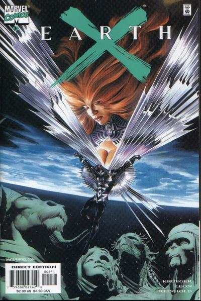 Earth X #9 Comic Books - Covers, Scans, Photos  in Earth X Comic Books - Covers, Scans, Gallery