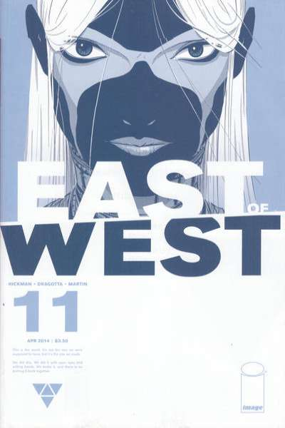 East of West #11 comic books for sale