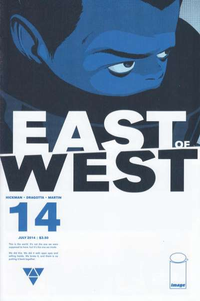 East of West #14 comic books for sale