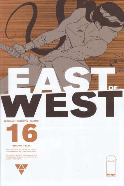 East of West #16 comic books for sale