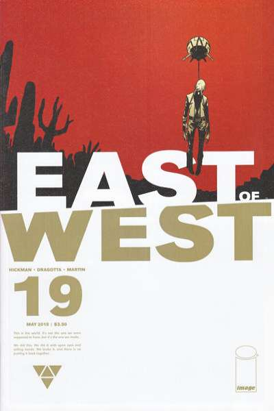 East of West #19 comic books for sale