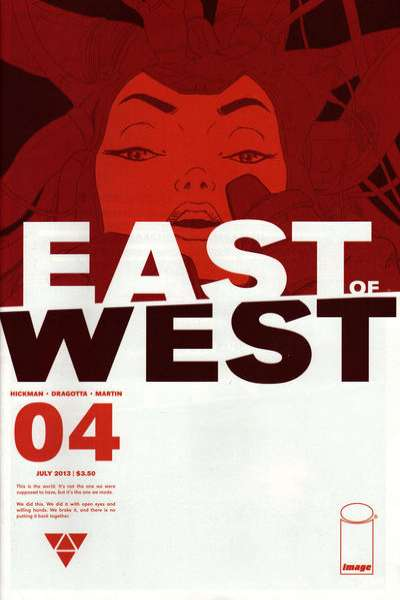 East of West #4 comic books for sale