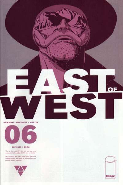 East of West #6 comic books for sale