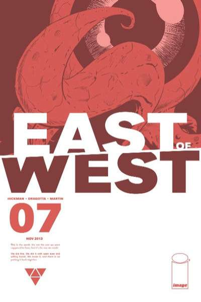 East of West #7 comic books - cover scans photos East of West #7 comic books - covers, picture gallery