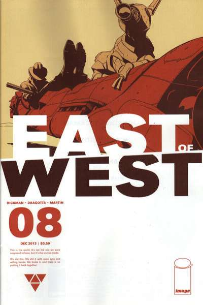 East of West #8 comic books for sale