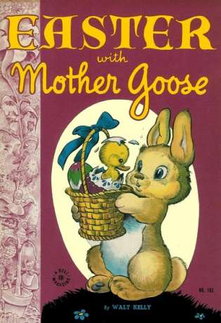 Easter with Mother Goose comic books