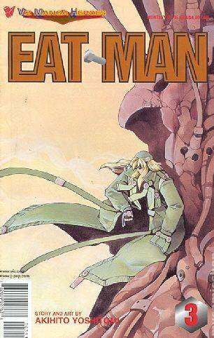 Eat-Man #3 comic books for sale