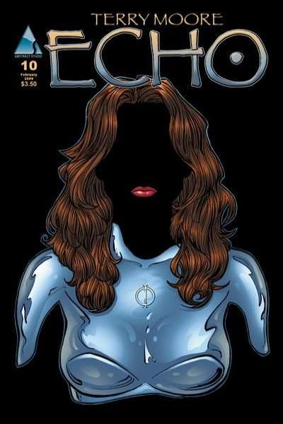 Echo #10 comic books - cover scans photos Echo #10 comic books - covers, picture gallery