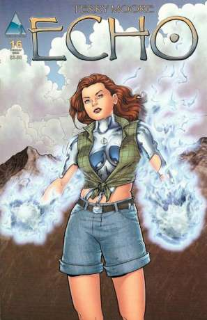 Echo #16 comic books - cover scans photos Echo #16 comic books - covers, picture gallery