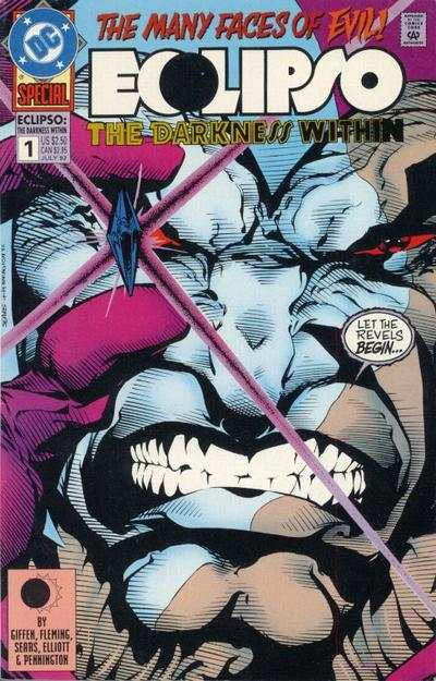 Eclipso: The Darkness Within #1 comic books - cover scans photos Eclipso: The Darkness Within #1 comic books - covers, picture gallery