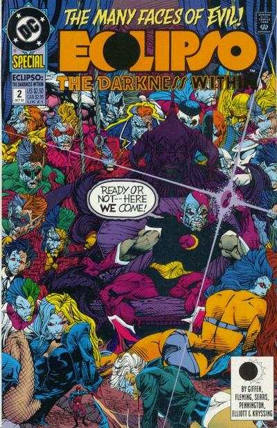 Eclipso: The Darkness Within #2 Comic Books - Covers, Scans, Photos  in Eclipso: The Darkness Within Comic Books - Covers, Scans, Gallery