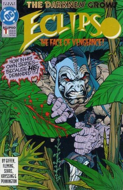 Eclipso Comic Books. Eclipso Comics.