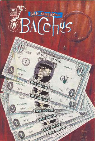 Eddie Campbell's Bacchus #2 comic books for sale