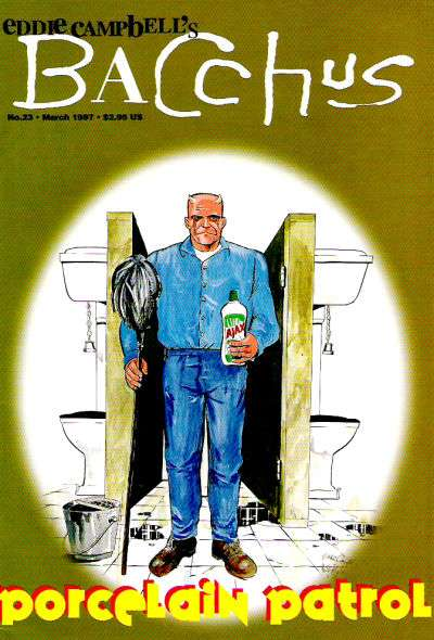 Eddie Campbell's Bacchus #23 Comic Books - Covers, Scans, Photos  in Eddie Campbell's Bacchus Comic Books - Covers, Scans, Gallery