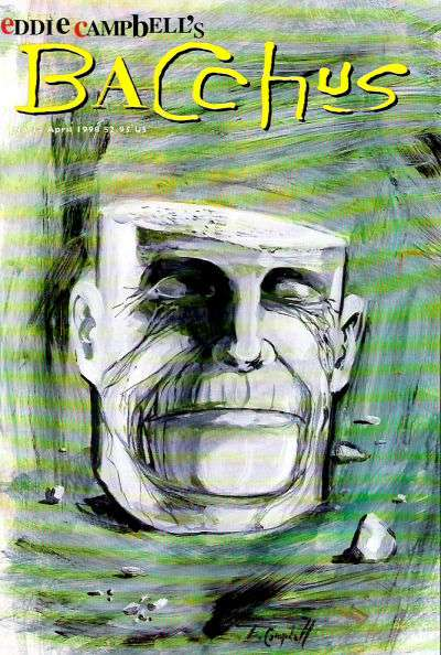 Eddie Campbell's Bacchus #34 comic books for sale