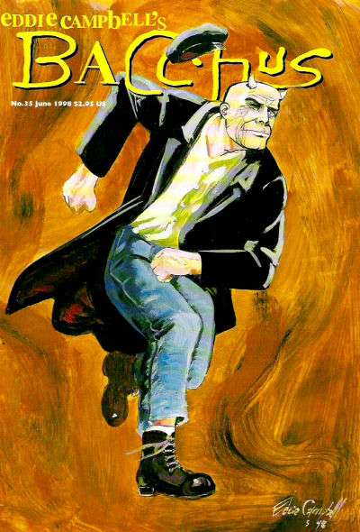 Eddie Campbell's Bacchus #35 comic books for sale