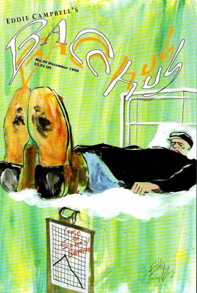 Eddie Campbell's Bacchus #40 comic books for sale