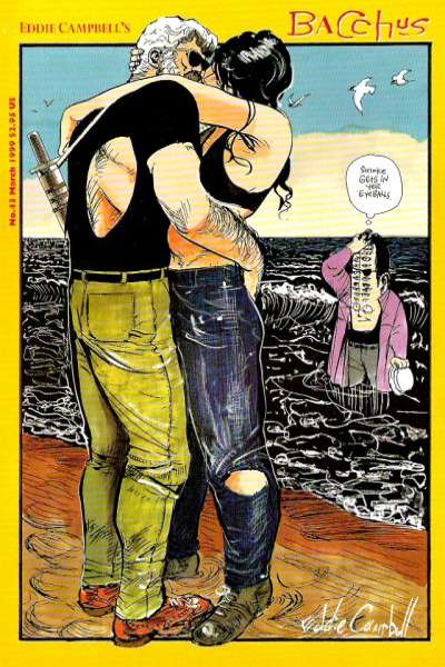 Eddie Campbell's Bacchus #43 Comic Books - Covers, Scans, Photos  in Eddie Campbell's Bacchus Comic Books - Covers, Scans, Gallery