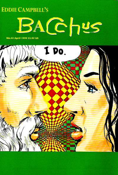 Eddie Campbell's Bacchus #44 comic books for sale