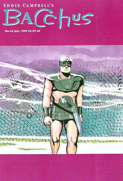 Eddie Campbell's Bacchus #45 comic books for sale