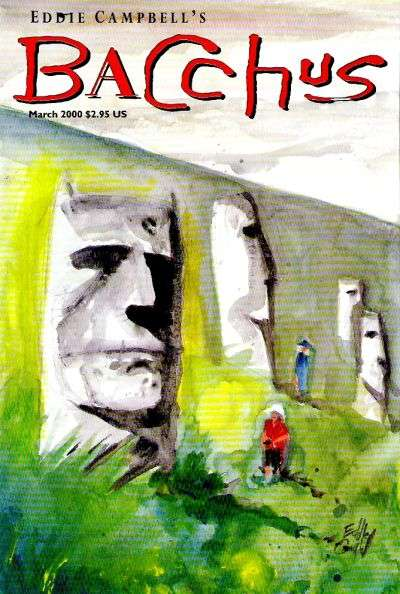 Eddie Campbell's Bacchus #51 comic books for sale