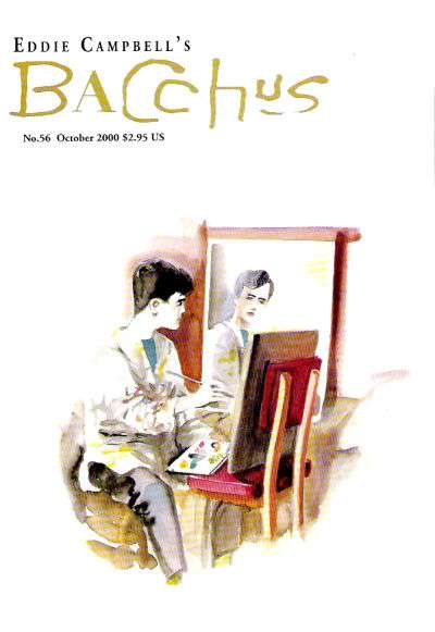 Eddie Campbell's Bacchus #56 comic books for sale
