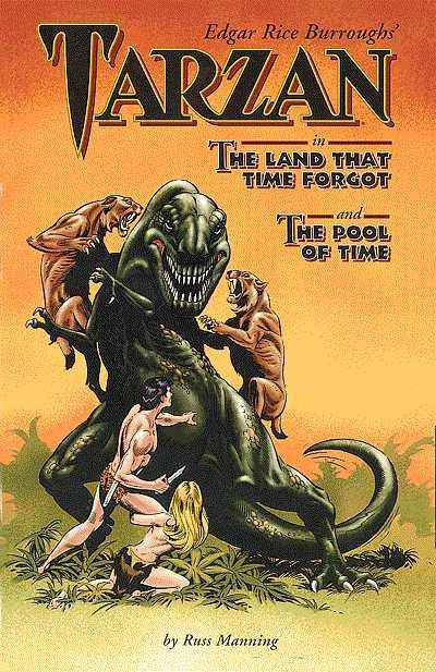 Edgar Rice Burroughs' Tarzan in The Land that Time Forgot and The Pool of Time #1 Comic Books - Covers, Scans, Photos  in Edgar Rice Burroughs' Tarzan in The Land that Time Forgot and The Pool of Time Comic Books - Covers, Scans, Gallery
